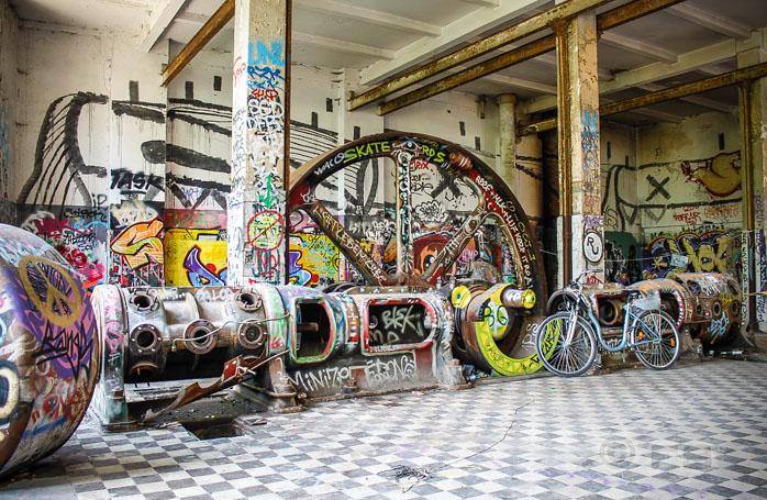 Die ehemalige Eisfabrik