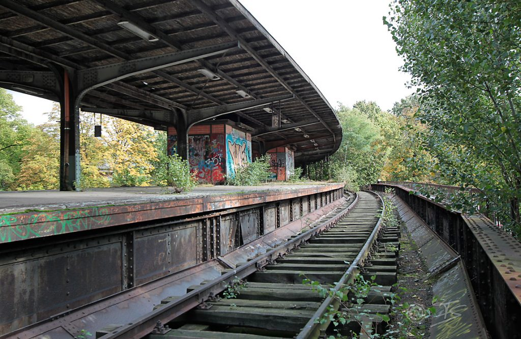 Entlang der alten Siemens S-Bahn-Strecke