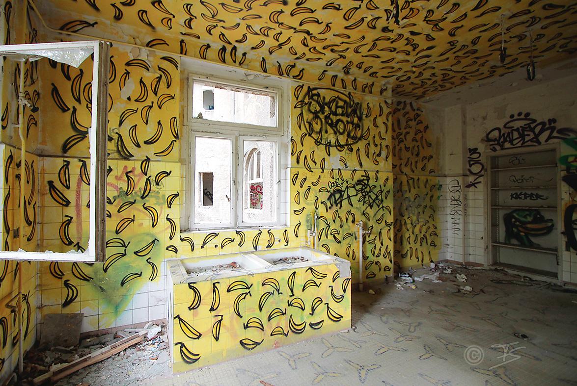 bananenraum säuglingskrankenhaus