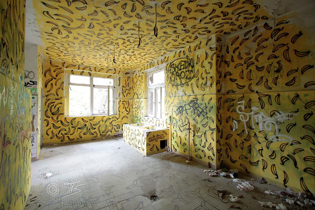 Bananenraum Kinderkrankenhaus Weißensee
