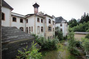 verlassene Johanniterheilstätte