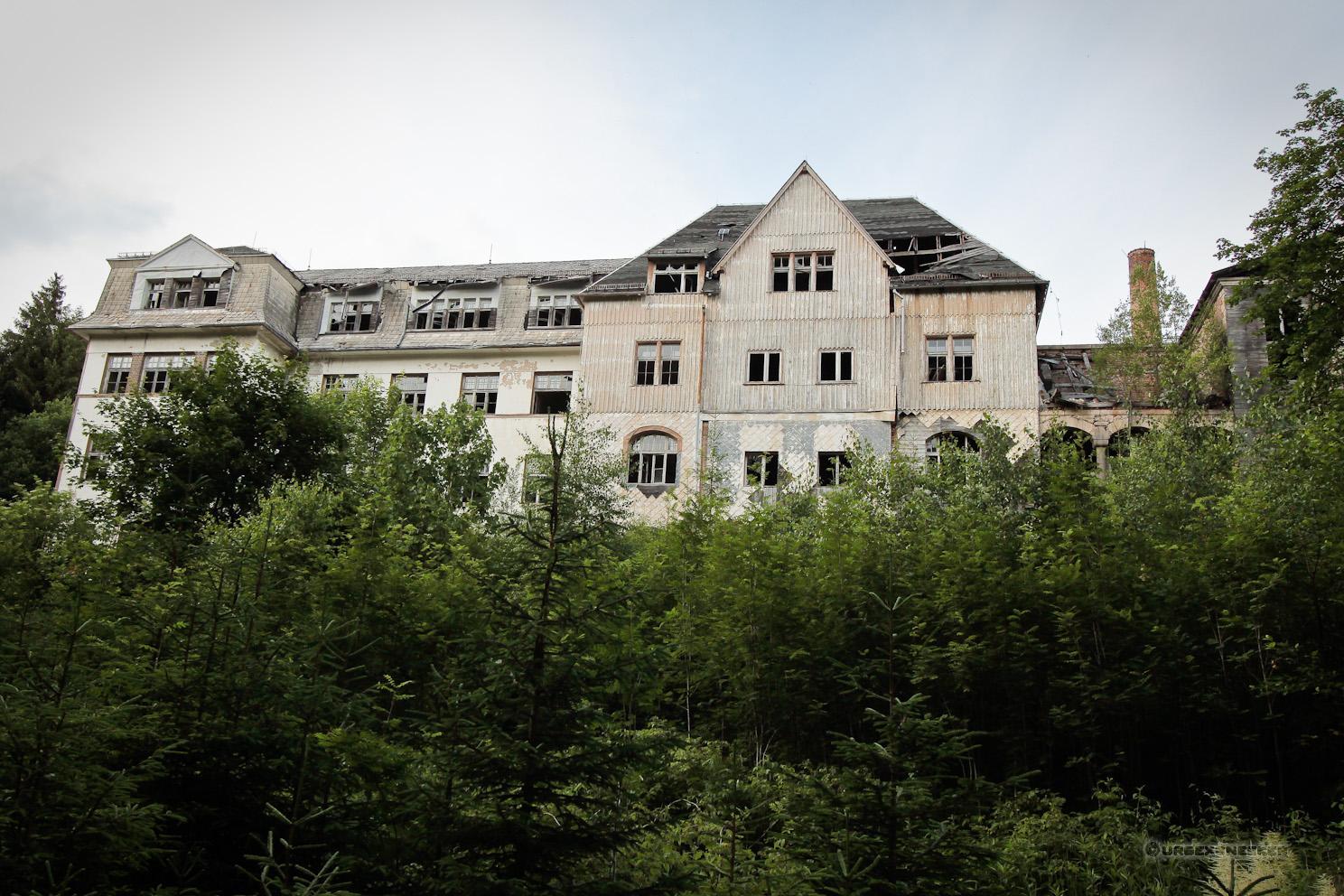 Seitenansicht Johanniter Heilstätte