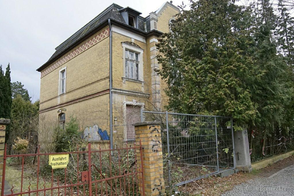 verlassene Jugendstil-Villa