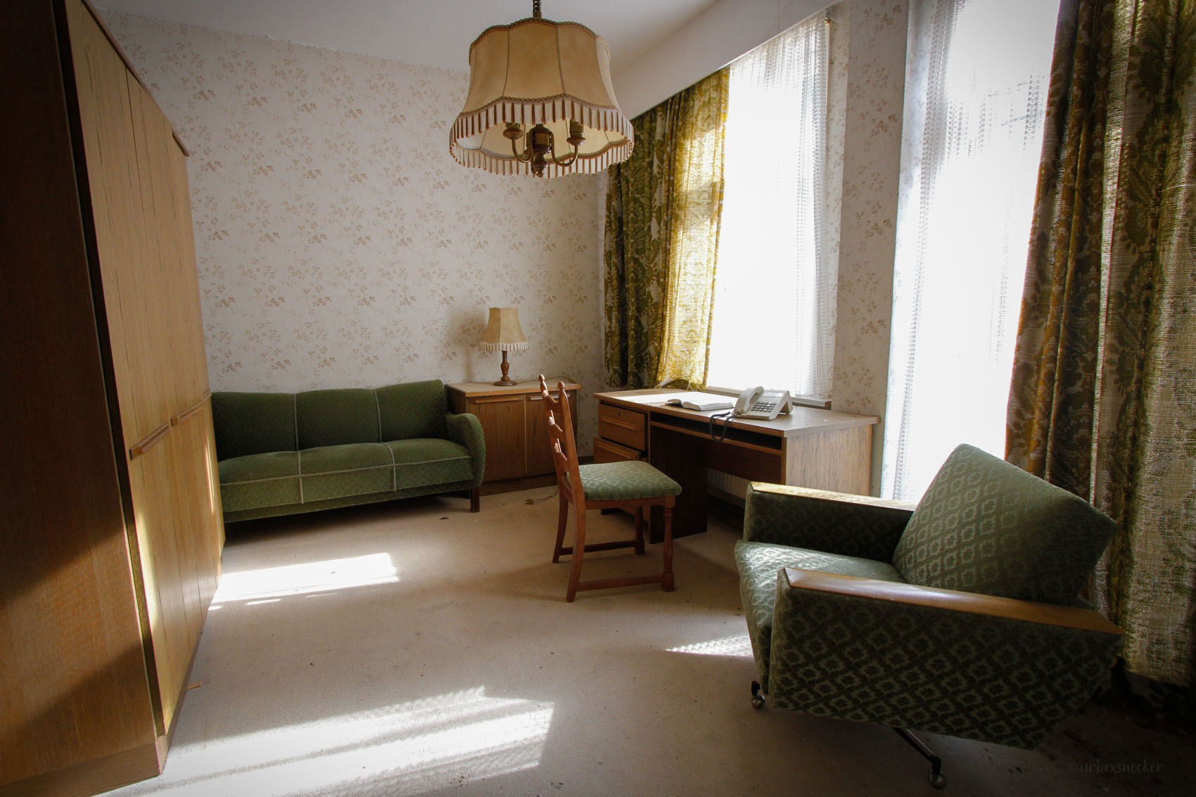 hotel tedy grüner raum