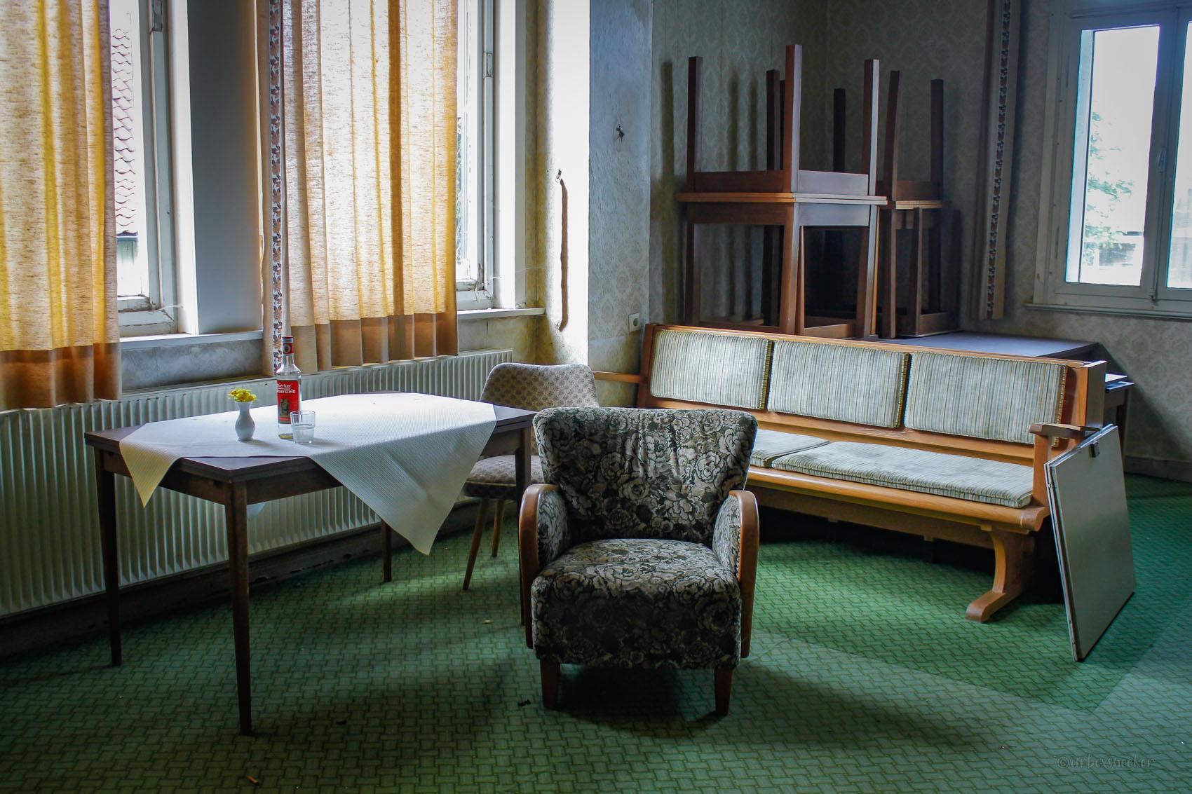 Hotel Teddy Sitzbank