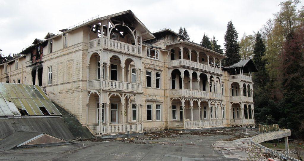 Das ehemalige Casino-Hotel