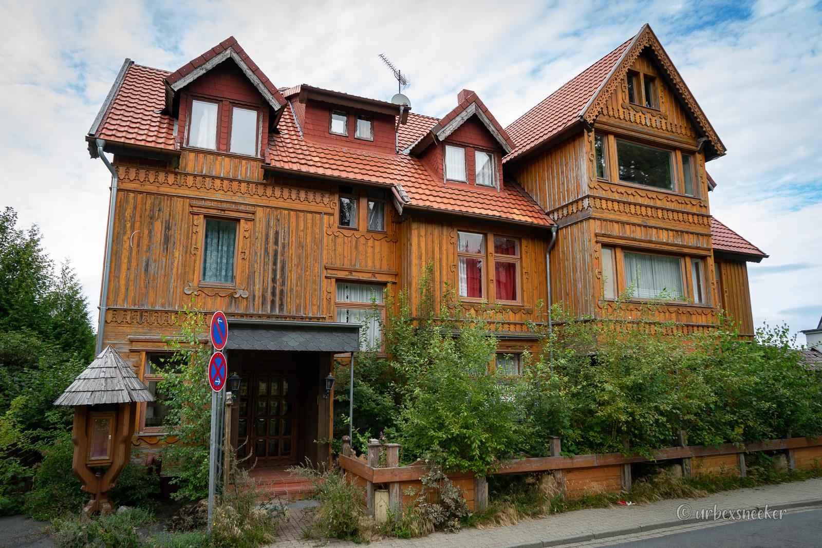 verlassenes Hotel Viktoria-Luise