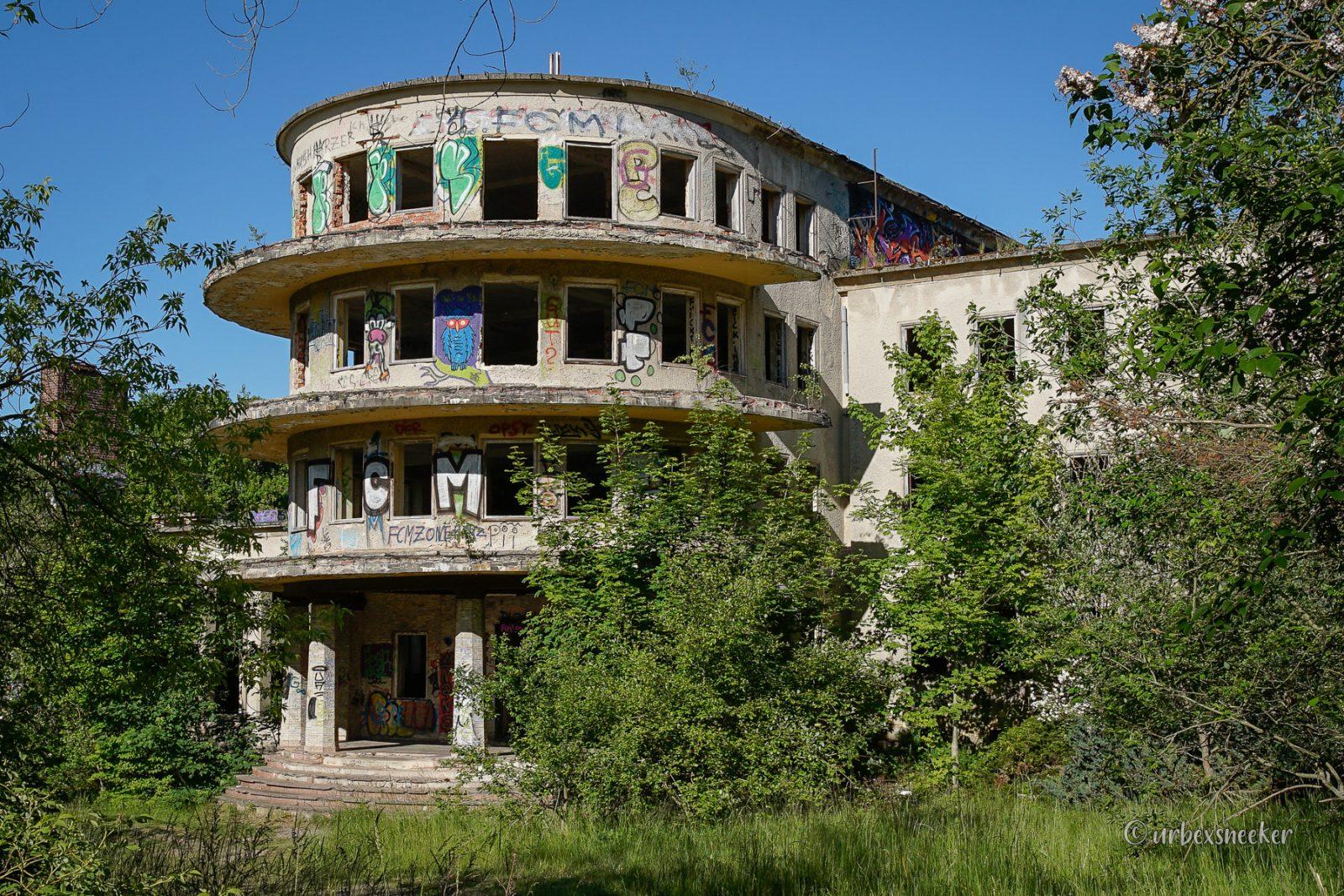 Das verlassene FDGB Erholungsheim Fritz Heckert