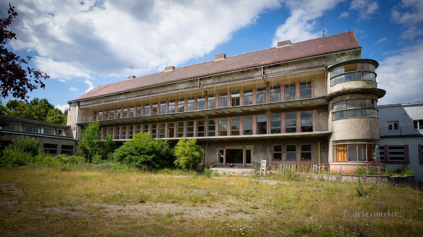 Das verlassene Kinderkrankenhaus Harzgerode