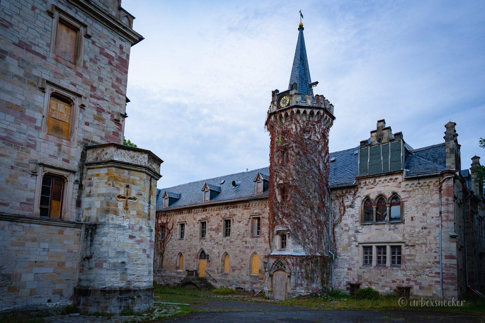 Das verlassene Schloss von Rapunzel